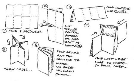 Ways to make a book out of paper